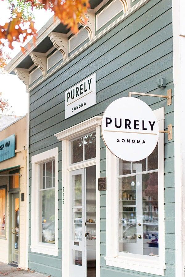 Purely Sonoma, Salon and Spa, Sonoma, California