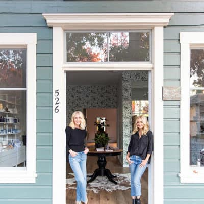 Jen and Jenna of Purely Sonoma